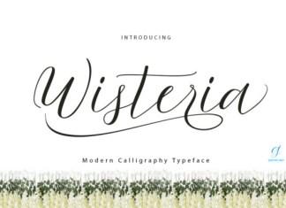 Wisteria Font