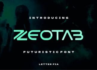 Zeotab Font