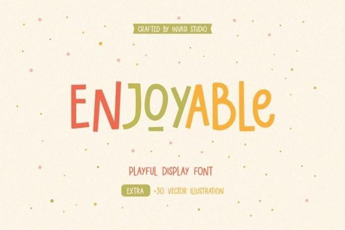 Enjoyable Font