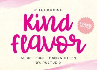 Kind Flavor Font