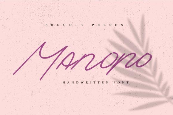 Manopo Font