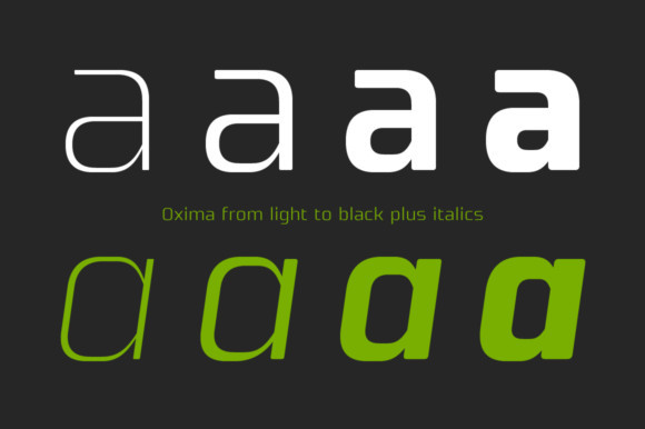 Oxima Font