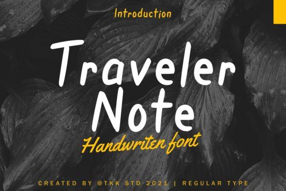Traveler Note Font