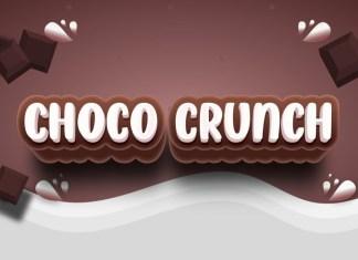 Choco Crunch Font