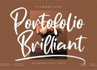 Portofolio Brilliant Font