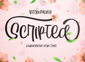 Scripted Font