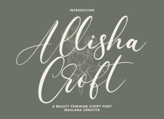Allisha Croft Font