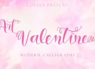 Art Valentine Font