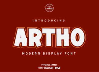 Artho Font
