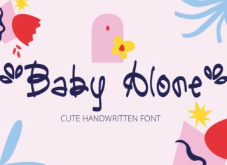 Baby Alone Font