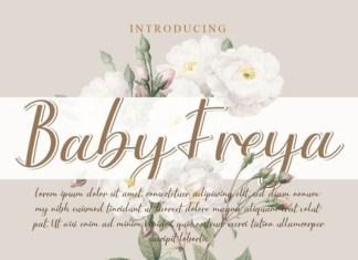 Baby Freya Font