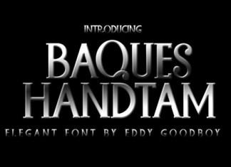 Baques Handtam Font
