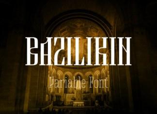 Bazilikin Font