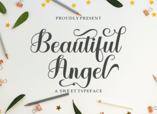 Beautiful Angel Font