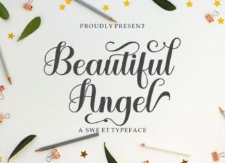 Beautiful Angel Font