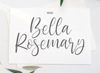 Bella Rosemary Font