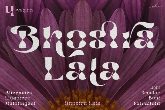 Bhostra Lala Font