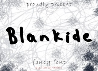 Blankide Font