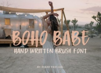 Boho Babe Font