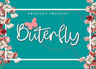 Buterfly Font