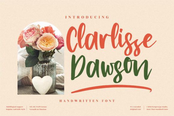 Clarlissa Dawson Font