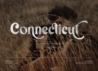 Connecticut Font