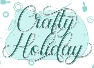 Crafty Holiday Font