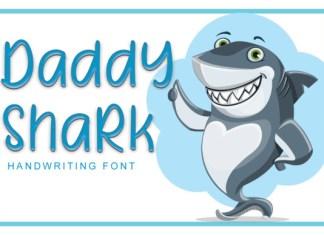 Daddy Shark Font
