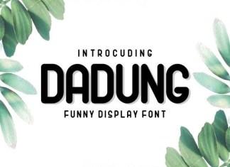 Dadung Font