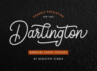 Darlington Font