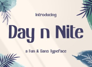 Day n Nite Font