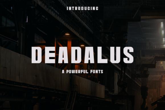 Deadalus Fonts