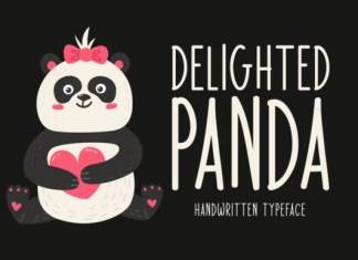Delighted Panda Font
