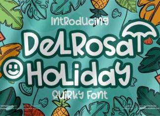 Delrosa Holiday Font