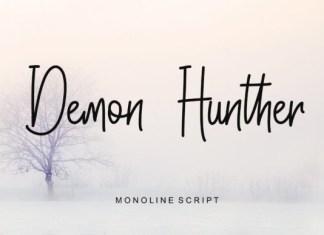 Demon Hunther Font