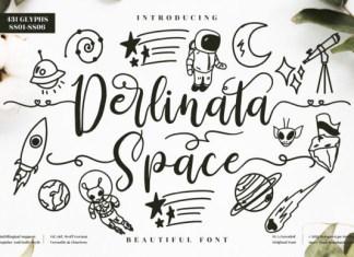 Derlinata Space Font