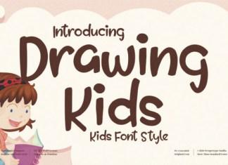Drawing Kids Font