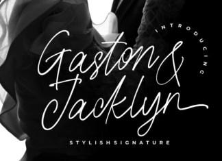 Gaston & Jacklyn Font