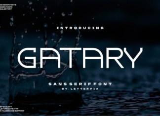 Gatary Font