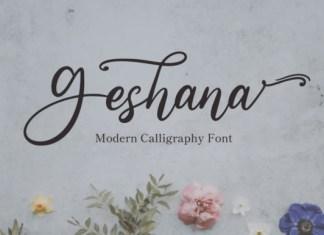 Geshana Font