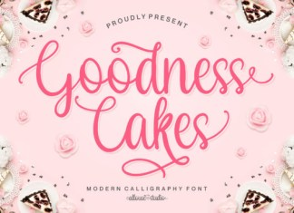 Goodness Cakes Font