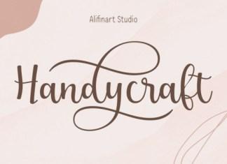 Handycraft Font