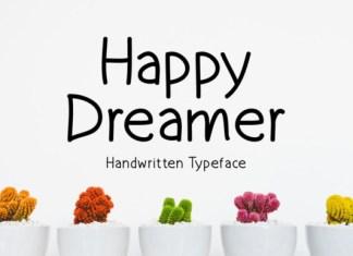 Happy Dreamer Font