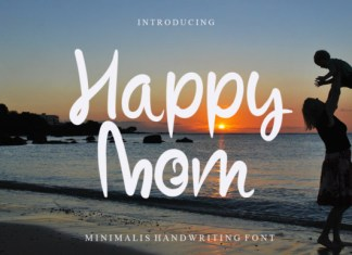 Happy Mom Font