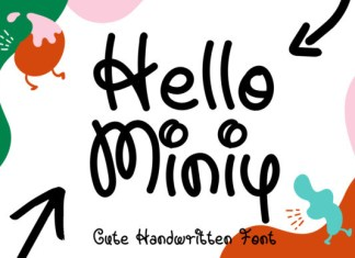 Hello Miniy Font