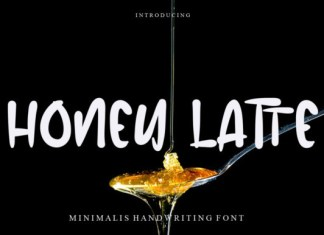 Honey Latte Font