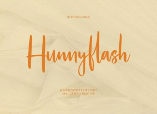 Hunnyflash Font