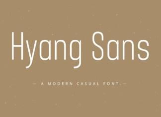 Hyang Font