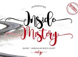 Inside Mistery Font