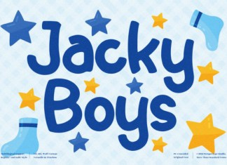Jacky Boys Font